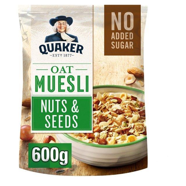 Prueba cereales Quaker gratis