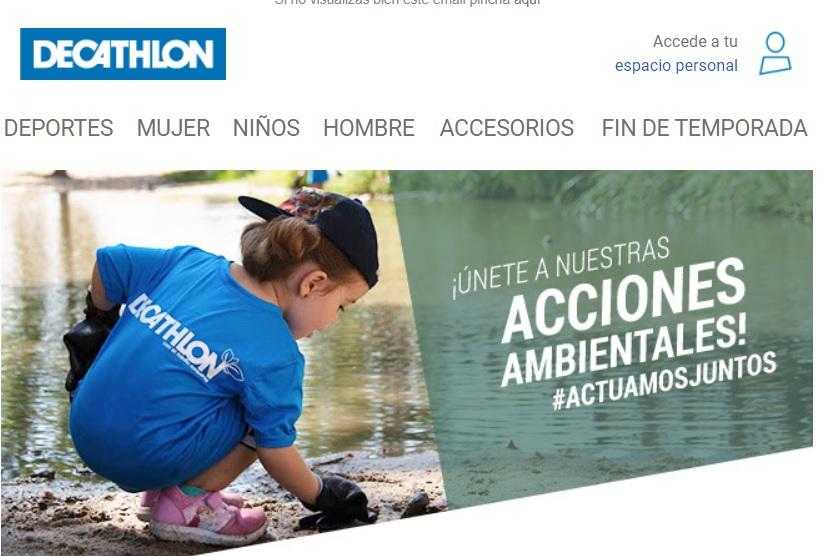 Decathlon promueve acciones ambientales