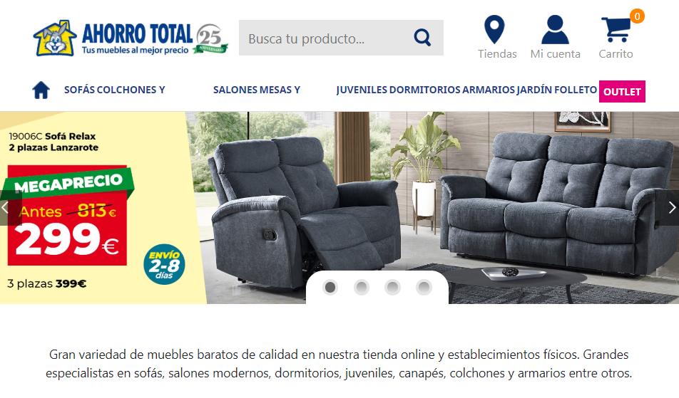Ahorro Total página web
