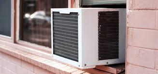 Aire acondicionado ventana fachada