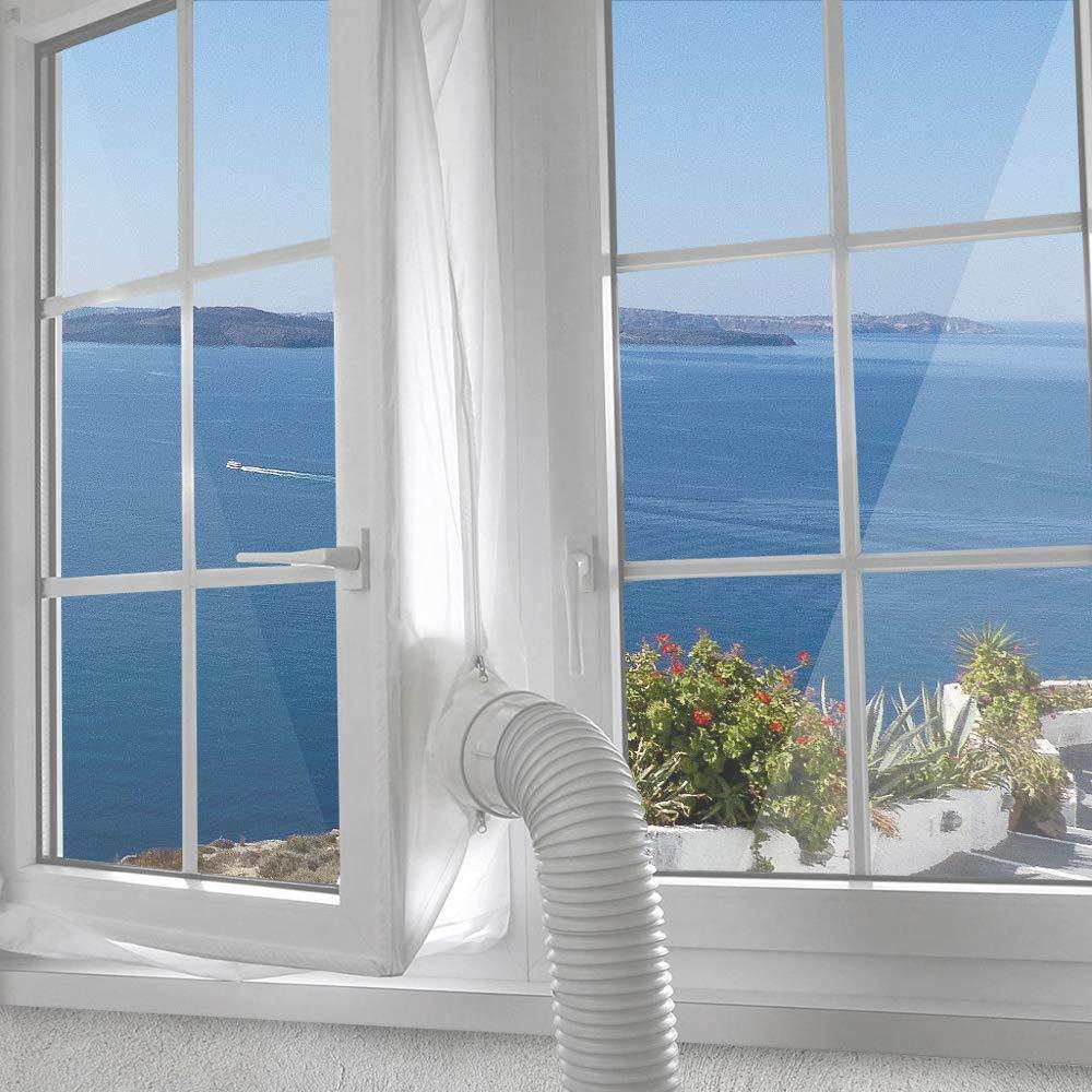 Aislante ventana aire acondicionado portátil