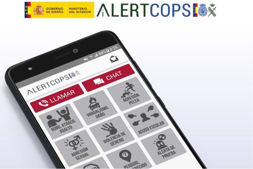 Alertcops, la App de la Policía