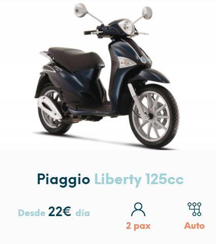 Alquilar moto en Formentera