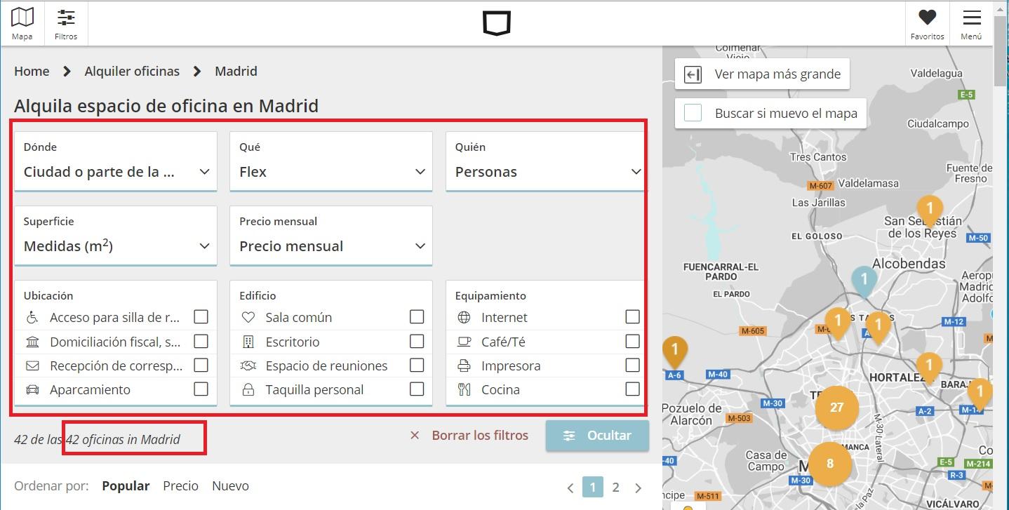 Alquiler de oficinas en Madrid Skepp