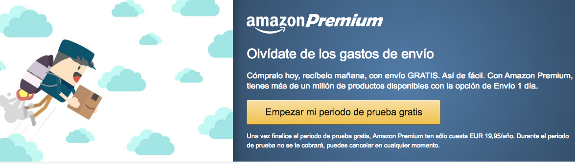 Amazon Prime España