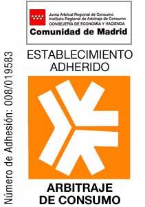 Arbitraje de Consumo Establecimiento adherido Madrid