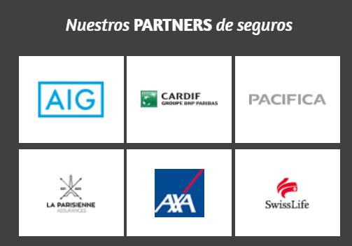 Aseguradoras que trabajan con SPB Iberica