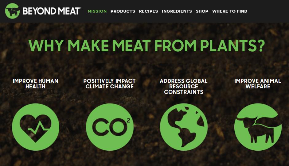 Beyond Meat misión