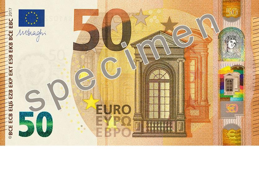 Dos años de cárcel por pasar billetes falsos de 50 euros