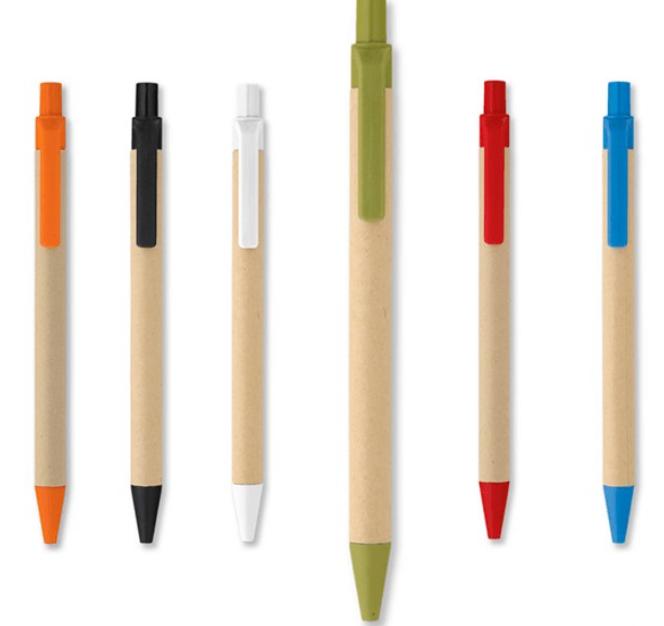 Bolígrafos biodegradables
