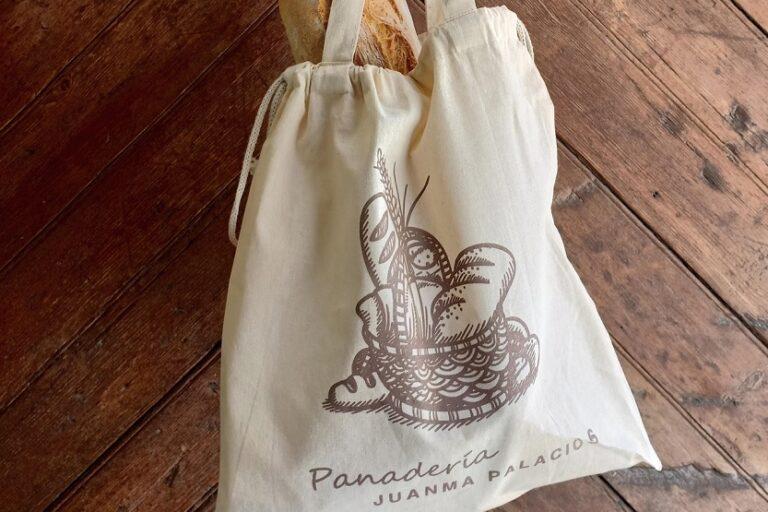 Bolsas de algodón de Panadería Palacios