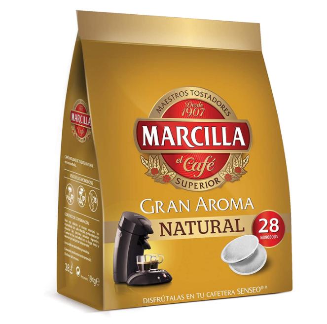 Cápsulas de café Senseo de Marcilla