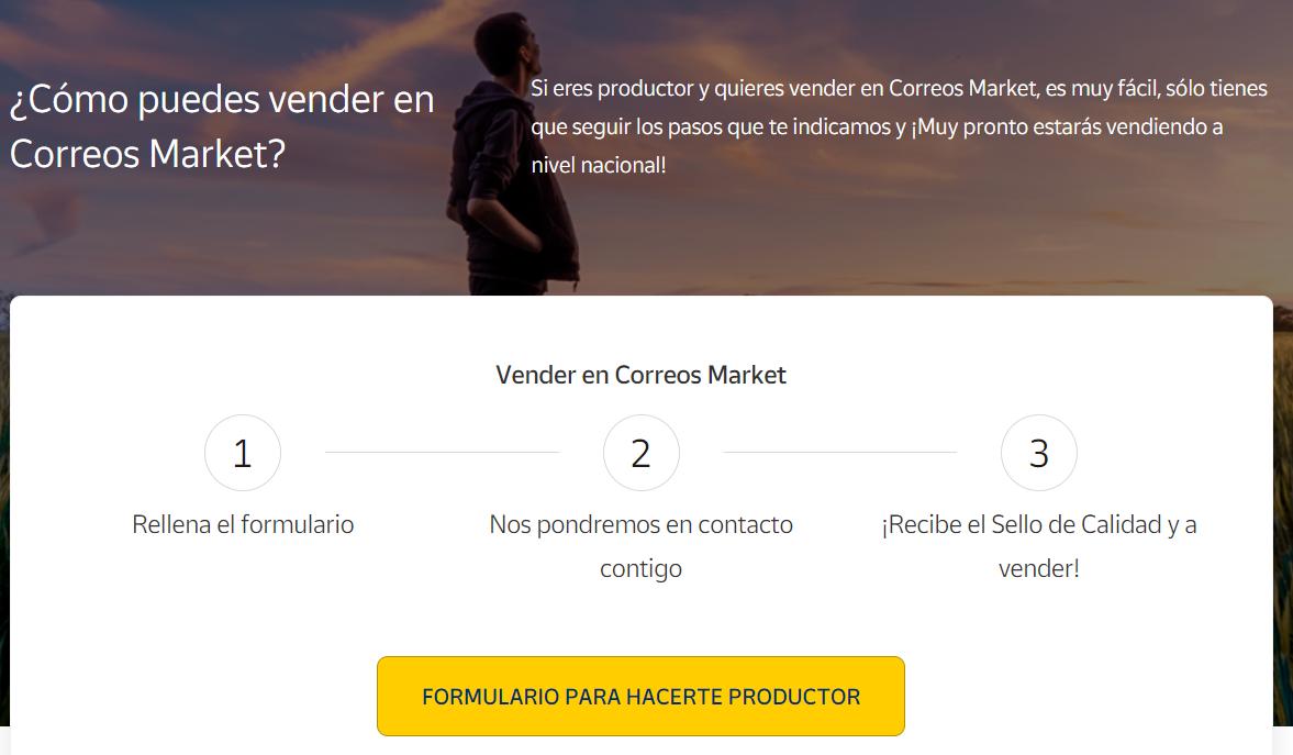 Cómo vender en Correos Market