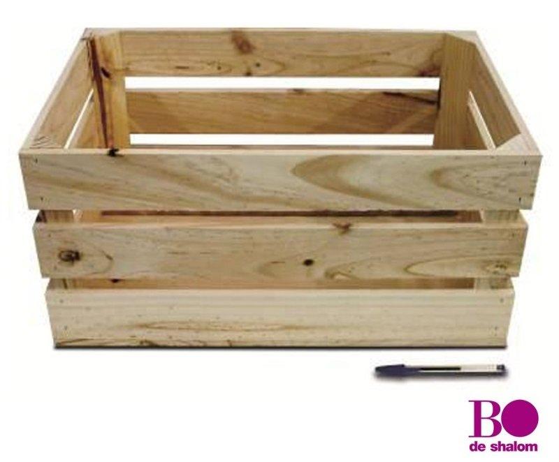 Caja de madera para fruta de Bodeshalom