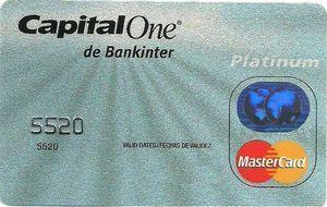 tarjeta bancaria Capital-One