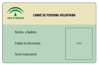 Qué es el carné de voluntario