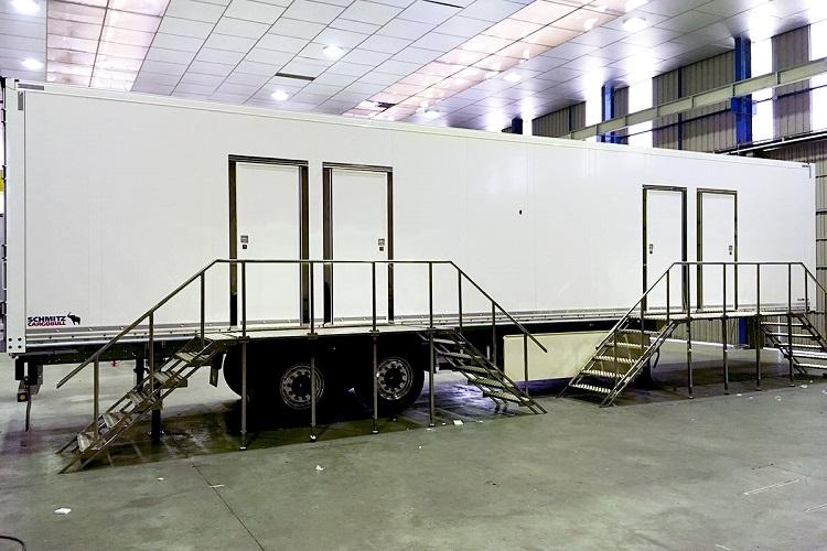 Carrocería de camión (Auxiliar de Carrocerías)