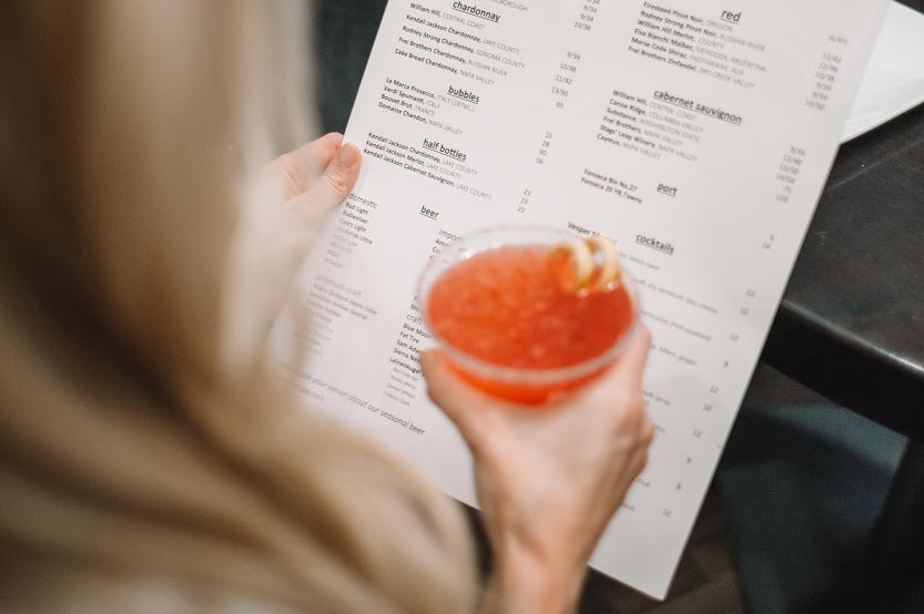 Obligaciones de precios de los restaurantes