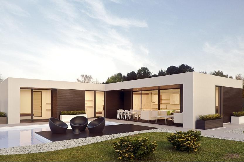 Las casas prefabricadas de hormigón, el nuevo estilo modular y sostenible