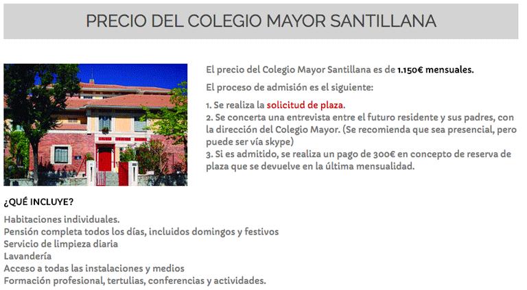 colegio-mayor-santillana-madrid-precios