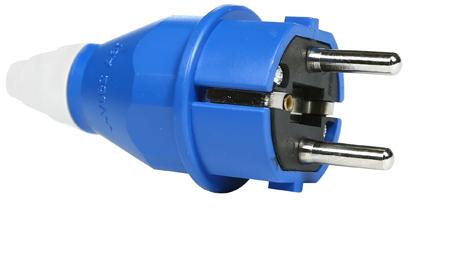 Conector clásico Schuko