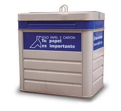 Contenedor-Azul-de papel
