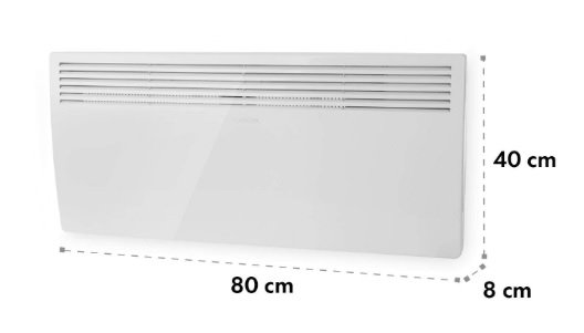 Convector electrico Klarstein Hot Spot Slimcurve Amazon