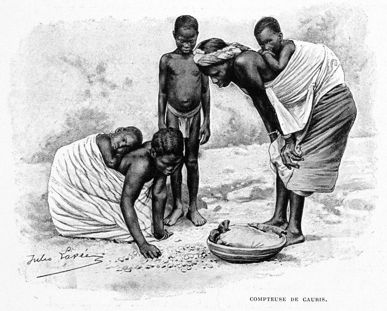 Counting Cowries 1895