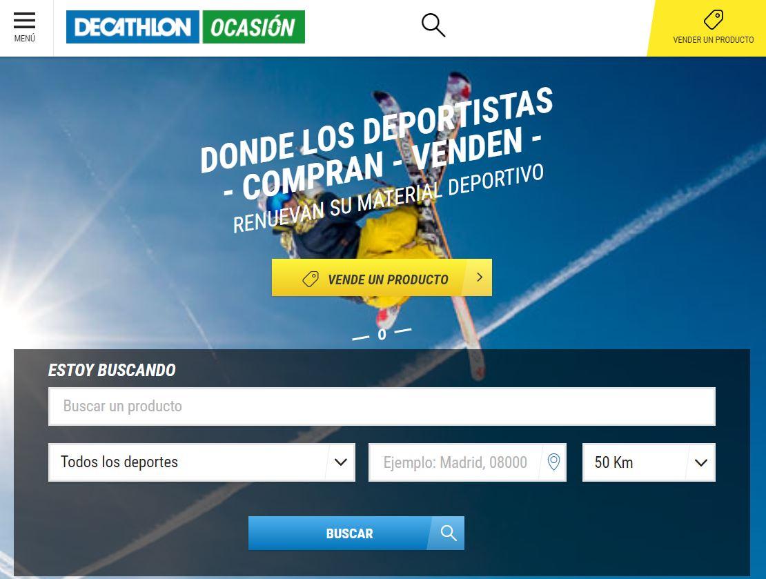 Decathlon Ocasión página web