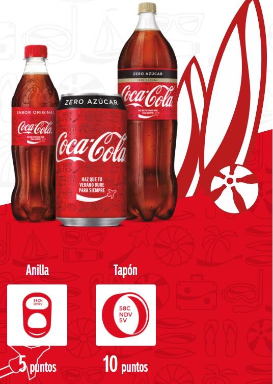 Dónde está el pincode de Coca-Cola