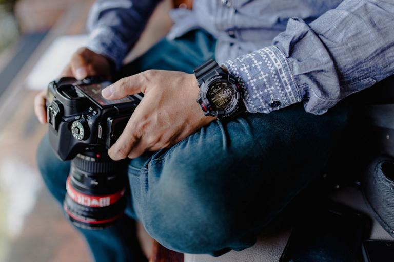 Equipo fotográfico camara de fotos fotografia