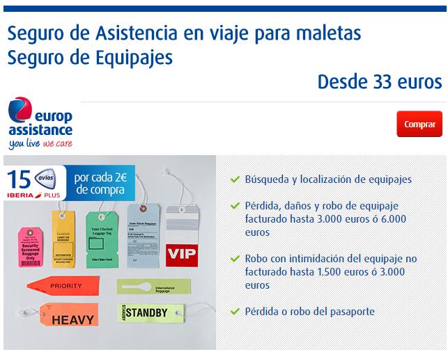 Europ Assistance Seguro de equipajes