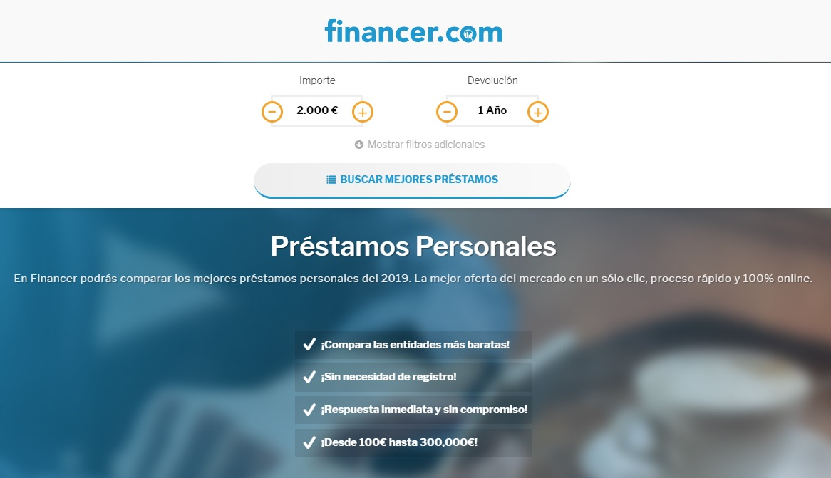 Financer.com home