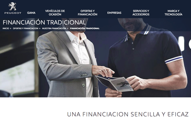 Financiación Peugeot