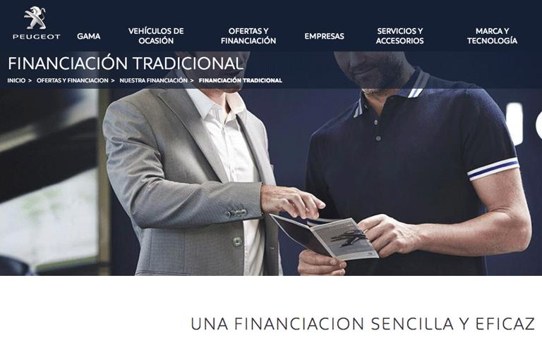 Financiación Peugeot