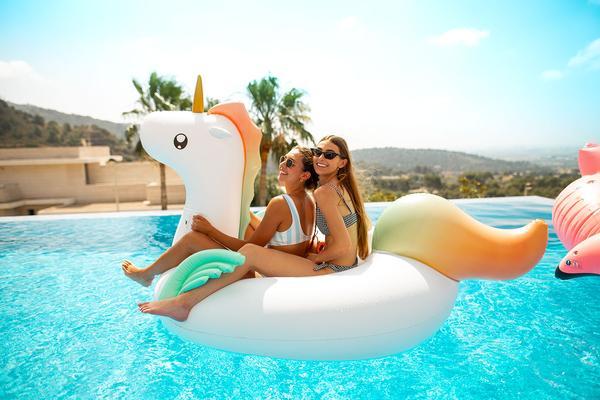 Flotador Unicornio de flamingueo
