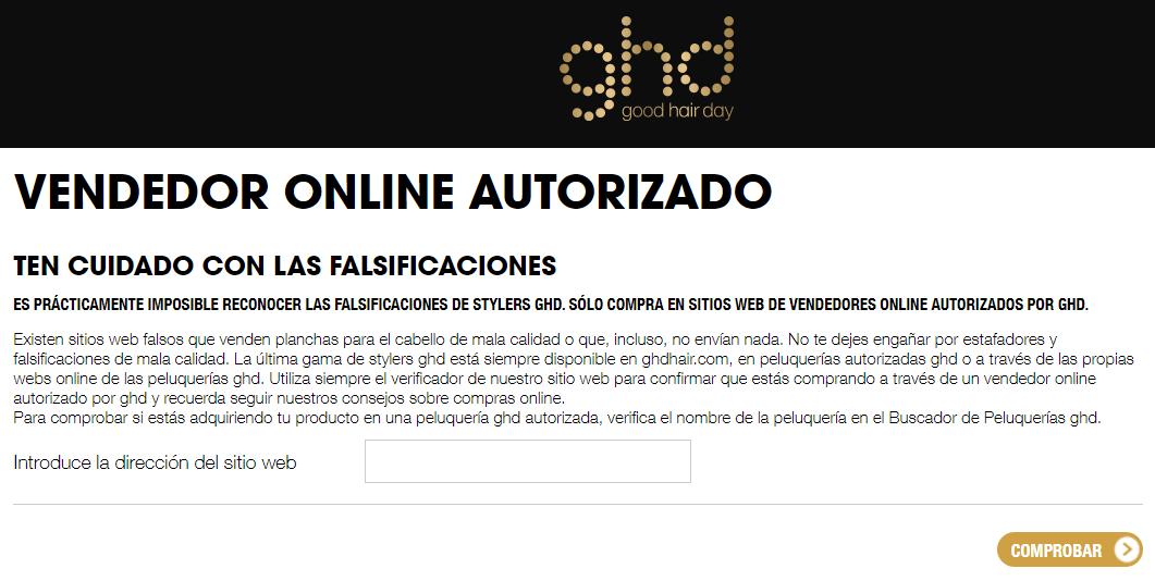 GHD distribuidores autorizados