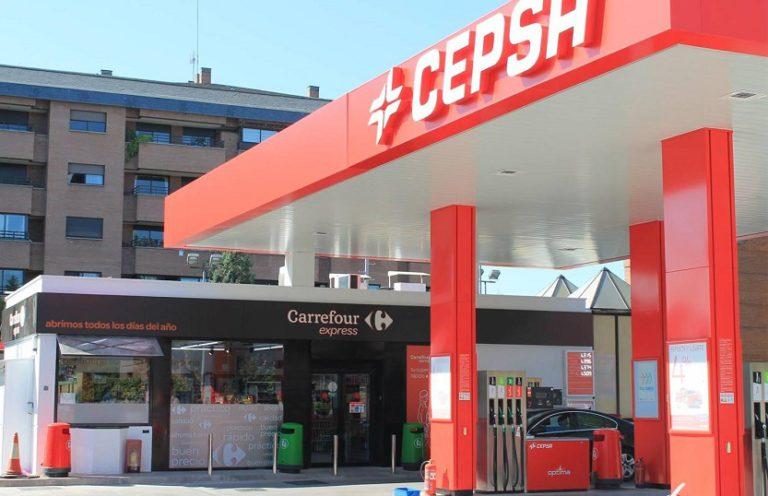 Gasolinera Cepsa Carrefour Express