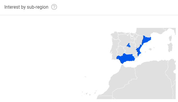 Google Trends Monitor PC Regions