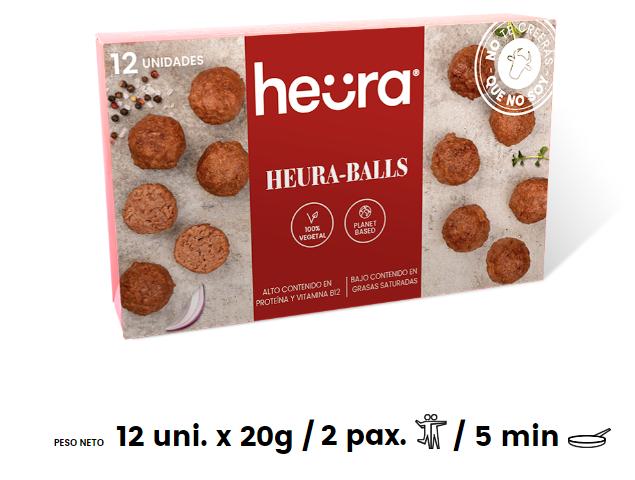 Heura meatballs albóndigas