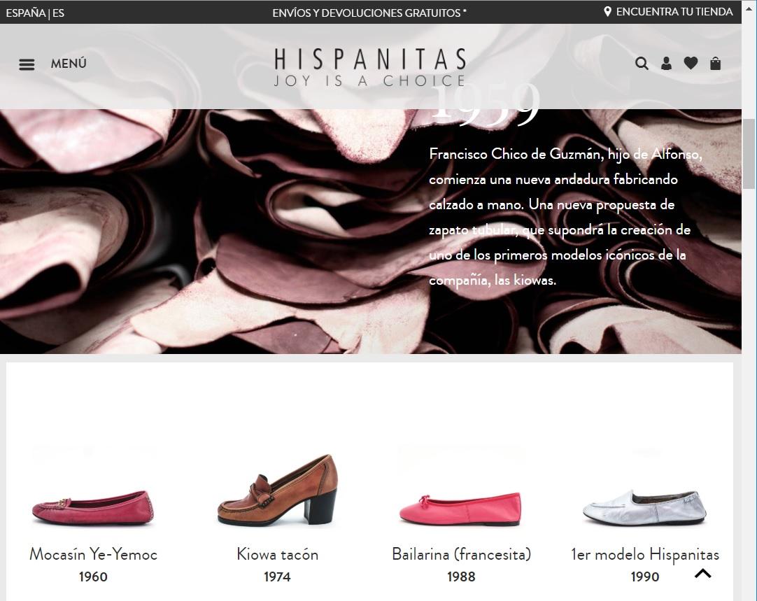 Hispanitas zapatos de mujer