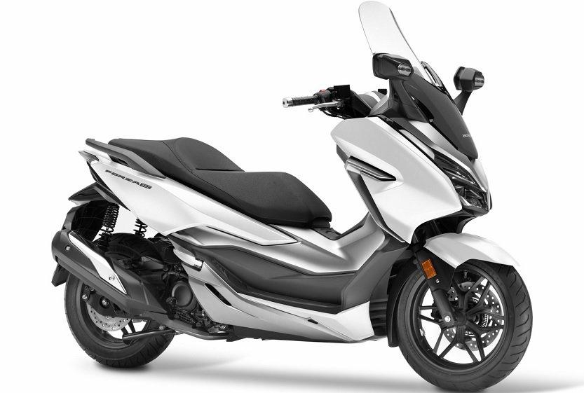 Avería en un scooter Honda Forza 300 nuevo