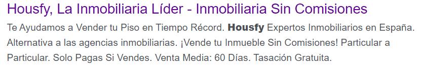 Housfy Google