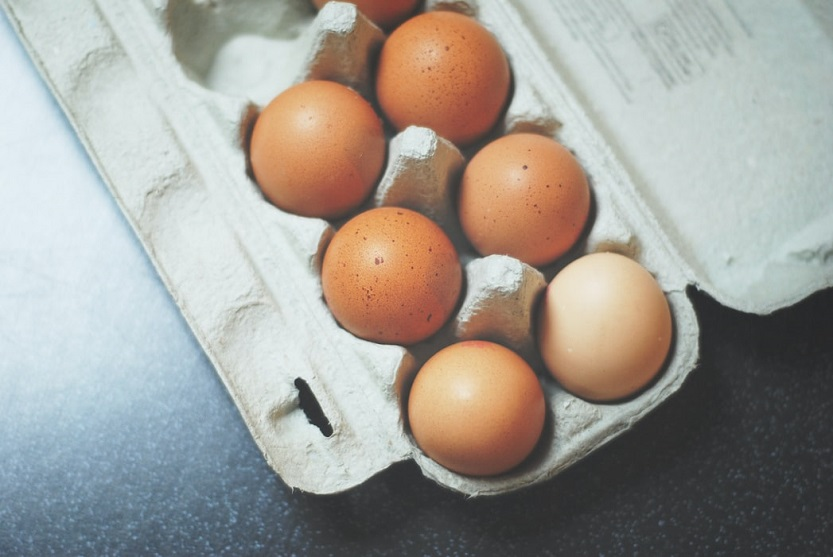 Categorías de huevos