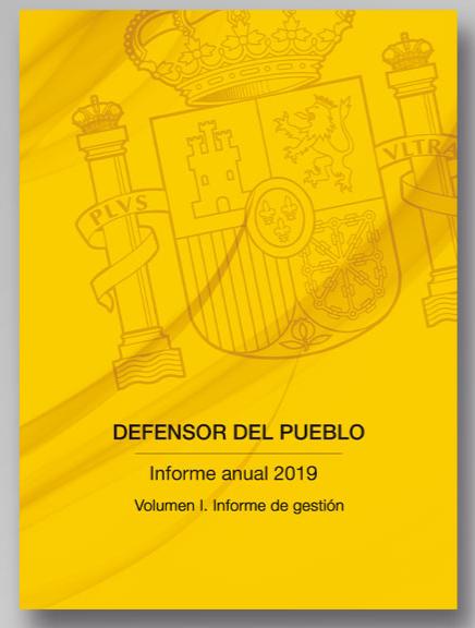 Informe Anual Defensor del Pueblo 2019