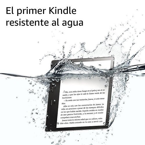 Kindle Oasis de Amazon el sumergible