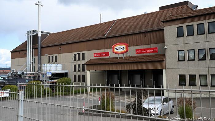 Listeriosis Alemania estado de Hesse industrias cárnicas Wilke 10 2019