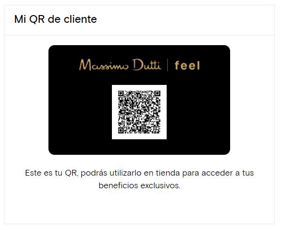 Massimo Dutti Feel QR