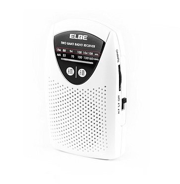 Mini radio de bolsillo Elbe RF-50 Amazon
