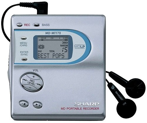 MiniDisc Sony MZR501 Amazon
